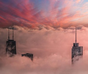 Michael T. Meyers catches the fog over Chicago