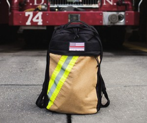 Recycled Firefighter Chief Backpack