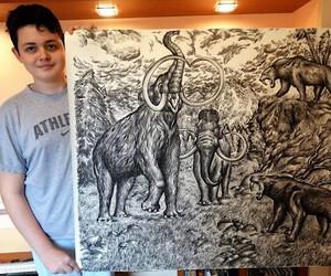 Amazing animal drawings by Dušan Krtolica
