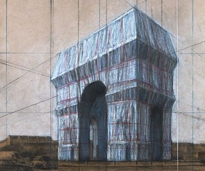Christo with a new project in france