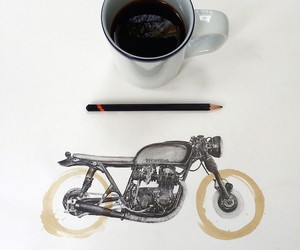 Coffee Stain Illustrations by Carter Asmann