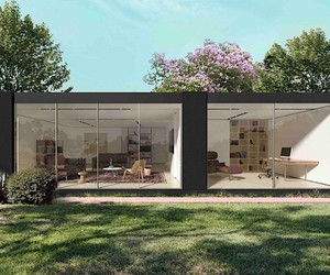 Cover builds individual garden houses