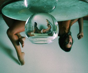 Experimental Fishbowl Photography by Dana Trippe