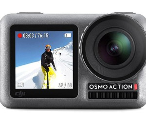 DJI tracks GoPro with new Osmo action camera