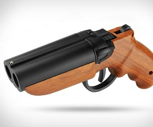 Double-Barrel Paintball Pistol