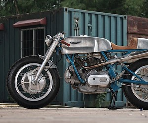 Sabotage Cycles reconstruct a Ducati Imola 750