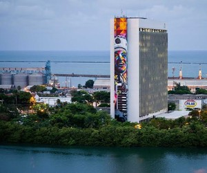 Streetart: New Mural by Eduardo Kobra in Recife