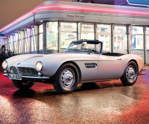 Elvis Presley's 1958 BMW 507 Roadster