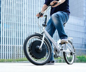 The EvoWheel turns your bike into an e-bike