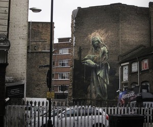 Streetart: Faith47 New Street Pieces In London/UK