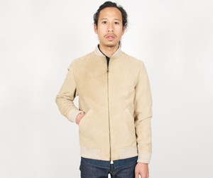 A.P.C. Louis W. Ferries Jacket Beige