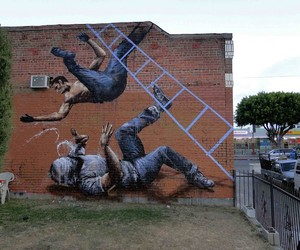 Streetart: Fintan Magee New Murals In Los Angeles