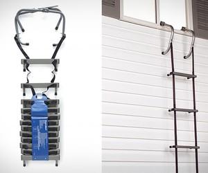 Portable Home Fire Escape Ladder