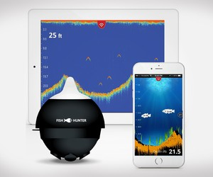 FishHunter Pro Helps You Find Fish Thru Sonar