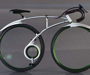 Folding Spoke-less Racing Bike Concept