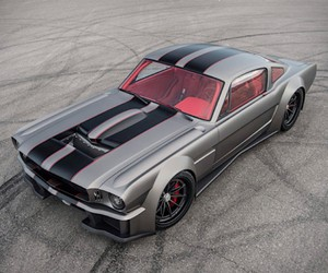 1965 Ford Mustang Fastback ready for the road