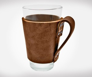 Hide & Drink Rustic Leather Pint Sleeve