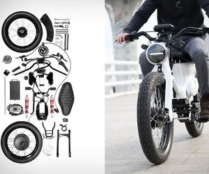 Honda Cub Electric Conversion Kit