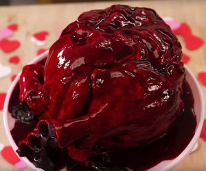 Heart cake by How to Cake It