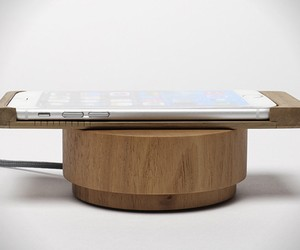Wooden Wireless Charging Case for iPhone 6