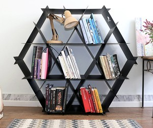 Geometric DIY Metal shelf