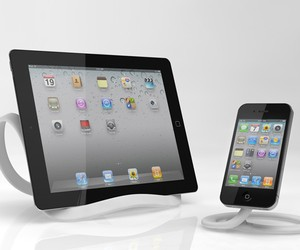 Infinite Loop Tablet and Smartphone Stand by Tim G