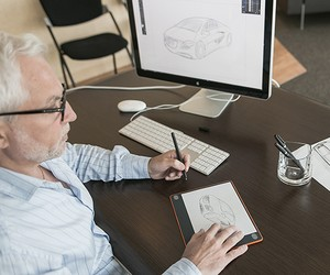 Digitize your sketches with The Slate