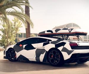 Camouflage Lamborghini