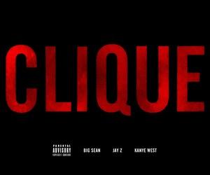 Kanye West ft Jay-Z & Big Sean – Clique (mp3)