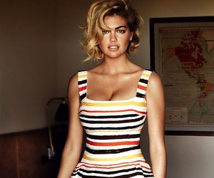 Kate Upton for Vogue US June 2013 by Mario Testino