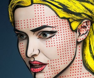 2D Or Not 2d, Models Transformed Into 2D Portraits