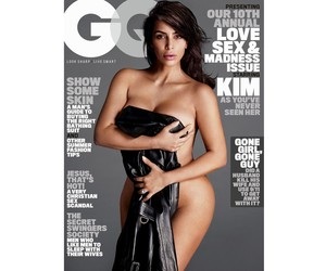 KIM KARDASHIAN WEST HEATS UP THE COVER OF 'GQ'