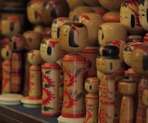 Hand Crafted Japanese Kokeshi Dolls by Yasuo Okaza