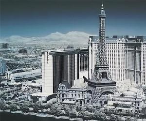 Las Vegas in Infrarot
