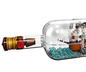 LEGO launches Bottle Ship with 962 pieces