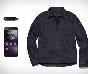 Levis Commuter Trucker Jacket With Jacquard