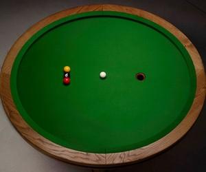 Loop Elliptical Pool Table