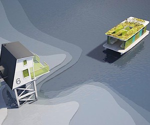 "The ""Tiny Eco Hotel"" with a boat"