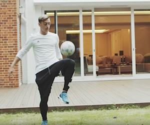 Visiting Mesut Ozil