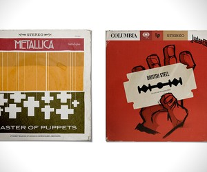 Metal Albums Redesigned as '50s Jazz Records