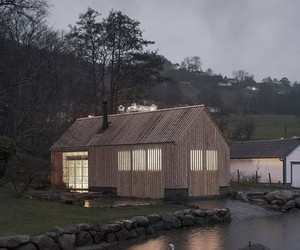 Small boathouse in Norway