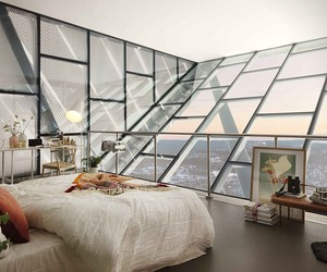 Ski Jump Penthouse in Norway