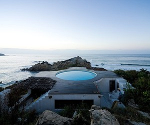The Observatory House in Roca Blanca, Mexico