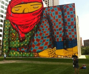 Os Gemeos – New Mural in Boston