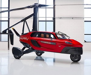 Distant: PAL-V presents flying car