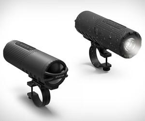 Photive Bike Headlight Speaker