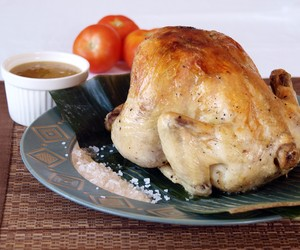 Filipino Style earthenware pot baked chicken
