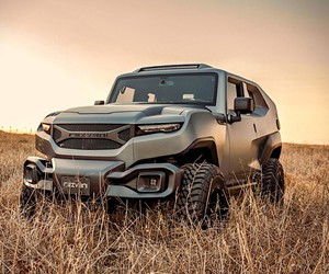 The Rezvani Tank is a military SUV