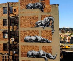 Streetart: ROA Goes Big in Johannesburg