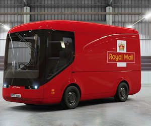The Royal Mail tests trucks with electric drive